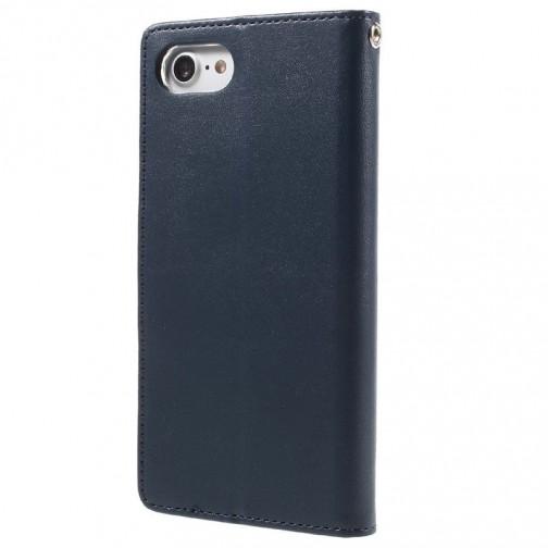 Knížkové pouzdro Mercury Bravo Diary na iPhone 7/8 modré
