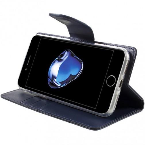 Pouzdro Mercury Bravo Diary na iPhone 7/8 tmavě modré