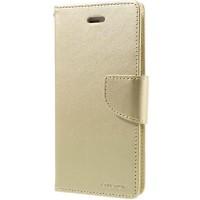 Pouzdro Mercury Bravo Diary na iPhone 7/8 zlaté