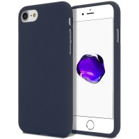 Měkké TPU pouzdro Mercury Soft Feeling na iPhone 7/8/SE 2020 tmavě modrý