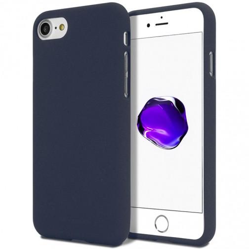 Měkké TPU pouzdro Mercury Soft Feeling na iPhone 7/8 tmavě modrý