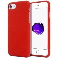 Měkké TPU pouzdro Mercury Soft Feeling na iPhone 7/8SE 2020 červené
