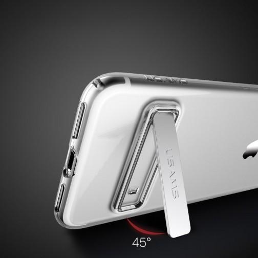 Usams Bright pouzdro se stojánkem pro Apple iPhone 7/8 čiré