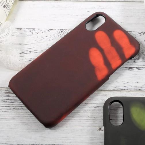 Thermo obal pro Apple iPhone X/XS Měnící barvu