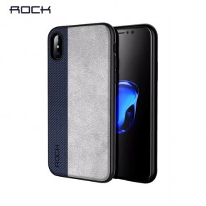 Pouzdro Rock Origin Series na iPhone X , modré