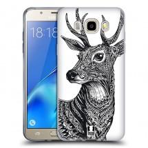 Silikonové pouzdro na Samsung Galaxy J5 (2016) - Head Case - zdobený jelínek