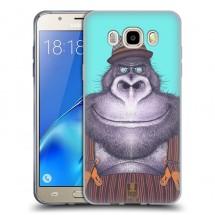 Silikonové pouzdro na Samsung Galaxy J5 (2016) - Head Case - animpla gorilák