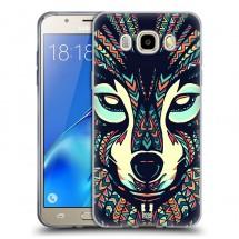 Silikonové pouzdro na Samsung Galaxy J5 (2016) - Head Case - aztec vlk