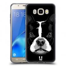 Silikonové pouzdro na Samsung Galaxy J5 (2016) - Head Case - ilustrovaný buldoček