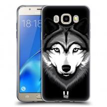 Silikonové pouzdro na Samsung Galaxy J5 (2016) - Head Case - ilustrovaný vlk