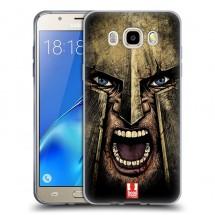 Silikonové pouzdro na Samsung Galaxy J5 (2016) - Head Case - řvoucí válečník