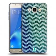 Silikonové pouzdro na Samsung Galaxy J5 (2016) - Head Case - mix chevron