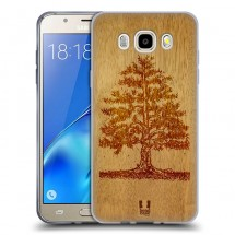 Silikonové pouzdro na Samsung Galaxy J5 (2016) - Head Case - woodart tree