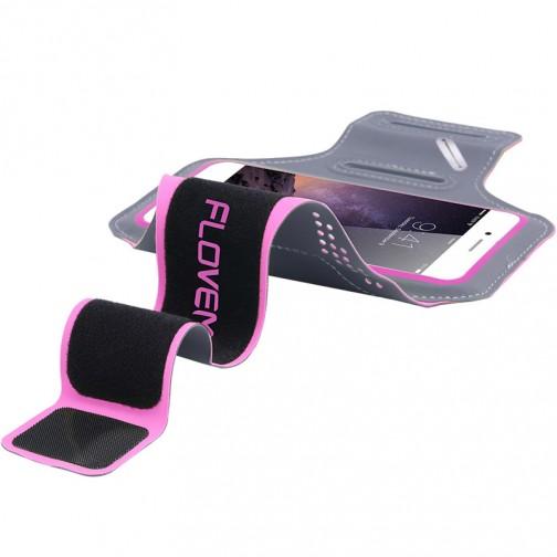 Floveme pouzdro na ruku pro běhání a sport 5,5 růžové