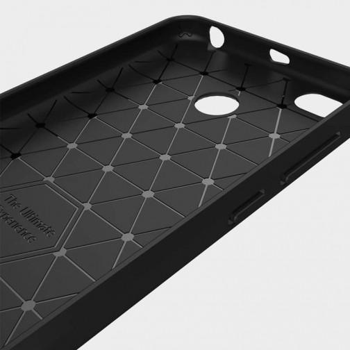 Pouzdro SES Carbon pro Xiaomi Redmi 4X - červené