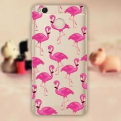 Silikonové pouzdro na mobil Xiaomi Redmi 4X Flamingo