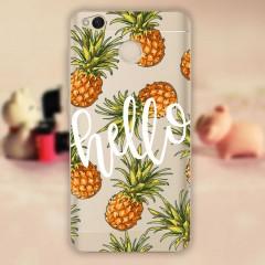 Silikonové pouzdro na mobil Xiaomi Redmi 4X Pineapple
