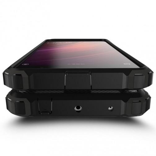 Hybrid Armor pouzdro Xiaomi Redmi 4X stříbrné