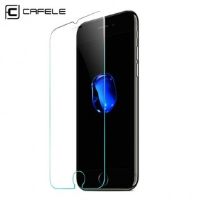Ochranné tvrzené sklo na iPhone 7 Plus/8 Plus CAFELE, 0,3mm, 2.5D