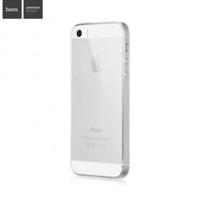 Kryt HOCO Light Ultra-tenký pro Apple iPhone 5/5S/SE - průhledný