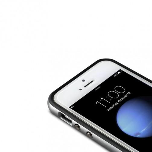 Luxusní kryt Rock Royce pro Apple iPhone 5/5S/SE - šedý