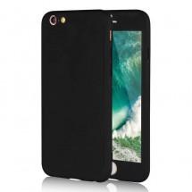 Clearo kryt 360 pro iPhone 6/6s + tvrzené sklo na displej - černý