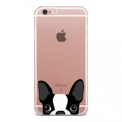 Silikonový kryt pro iPhone 7/8 Maličký pejsek