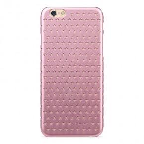 Kryt USAMS Twinkle pro iPhone 6/6s s hvězdičkami - růžový