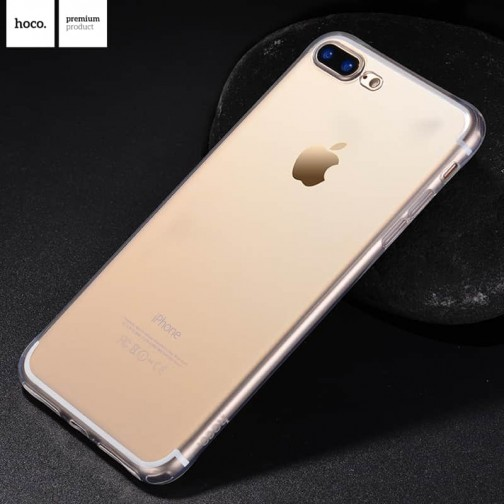 Kryt HOCO Light Ultra-tenký pro Apple iPhone 8 Plus/iPhone 7 Plus - průhledný
