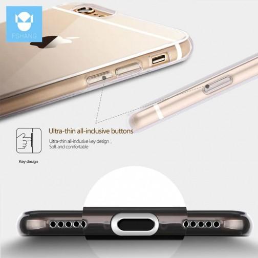 Silikonový Fshang kryt pro iPhone 8/7 Gradient růžový
