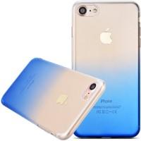 Silikonový kryt Fshang pro iPhone 8/7 Gradient modrý