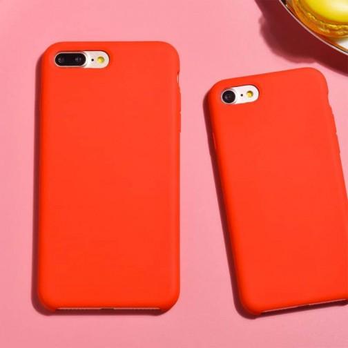 Luxusní kryt HOCO Original Series Silica pro Apple iPhone 8/7 - červený