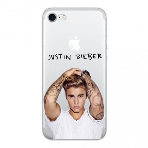 Silikonový kryt pro iPhone 6/6s Justin Bieber