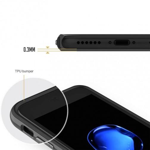 Luxusní kryt Rock Royce pro Apple iPhone 8/7 - černý