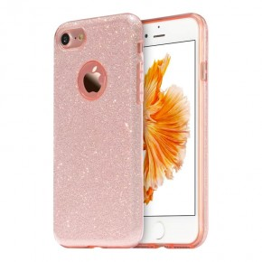 Luxusní kryt USAMS Bling pro Apple iPhone 8 Plus/iPhone 7 Plus - růžový