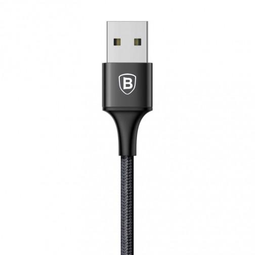Baseus Rapid kabel 3 v 1, Lightning, MicroUSB, Type-C, 1.2m