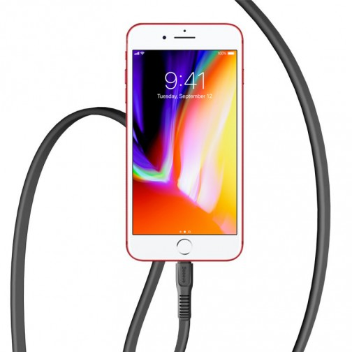 Baseus Tough kabel Lightning pro iPhone a iPad – 1m