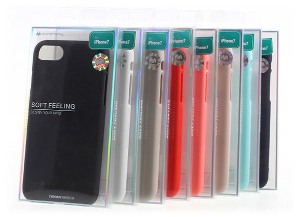 Pouzdra Mercury Soft Feeling iPhone 7/8