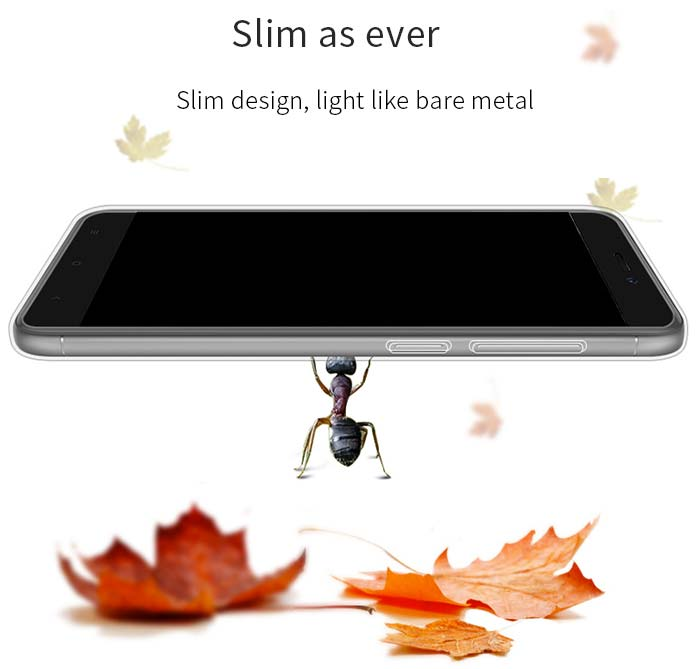 Pouzdro PZOZ pro Xiaomi Redmi 4X - průhledné